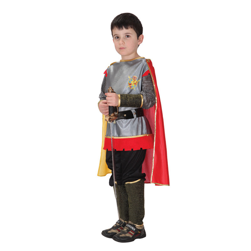 Kids Carnival Clothing Children Halloween Ancient Rome Warrior Cosplay Costume Girl Armor Hero Clothes For Party