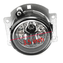Fog Lights with halogen bulbs 1 pcs / 2 pcs fog lamps For Mitsubishi Outlander ASX RVR 2007-2015 стоимость
