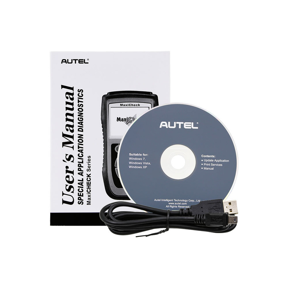 USB cable for Autel MAXICHECK DPF Reset
