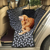 Car Pet Seat Covers PVC Waterproof Coating Footprint Back Bench Collapsible Oxford Fabric Back Seat Cover