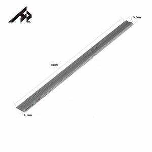 """Image 3 - Hertz 10 pces tct carboneto de tungstênio 3 1/4 """"lâminas de faca de plaina de 82mm para makita, bosch, dewalt, preto & decker, ryobi, idade"""
