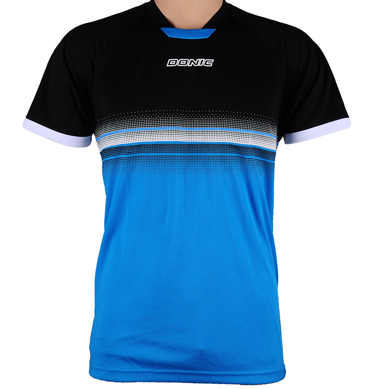 Genuine DNOIC Summer Style table tennis badminton shirt Fitness Outdoor Sports shirt Quick Dry For men and Women T-shirt