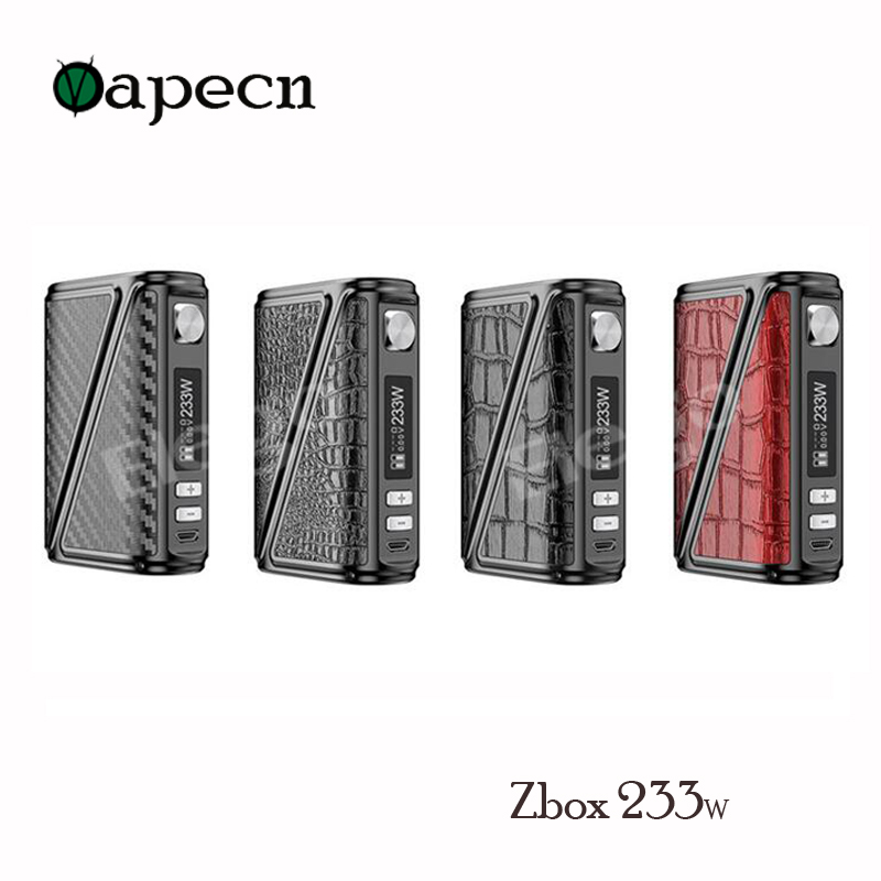100% Original Rofvape W High End Zbox 233w precise chip control Z-Box 233 Vape Box Mod цены онлайн