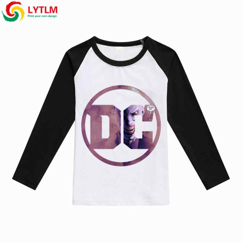 640c820081de LYTLM Joker Harley Quinn Batman Nightwing DC Comics Toddler Boys Long  Sleeve T Shirts New 2018