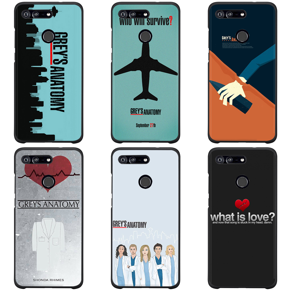 UV Printed TPU for Huawei Y6 2018 Silicone Phone Cover Honor 9 Case 10 Lite 7a 7c Phone Cover in Half wrapped Cases from Cellphones Telecommunications