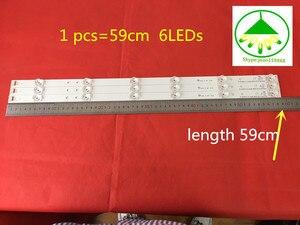 "Image 4 - 3PCS(2*A,1*B) for LG 32 inches LG INNOTEK DRT 3.0 32"" A/B Type 6916L 1974A 1975A 2223A 2224A 6920L 0419D 0418D 590mm 6 LEDs"