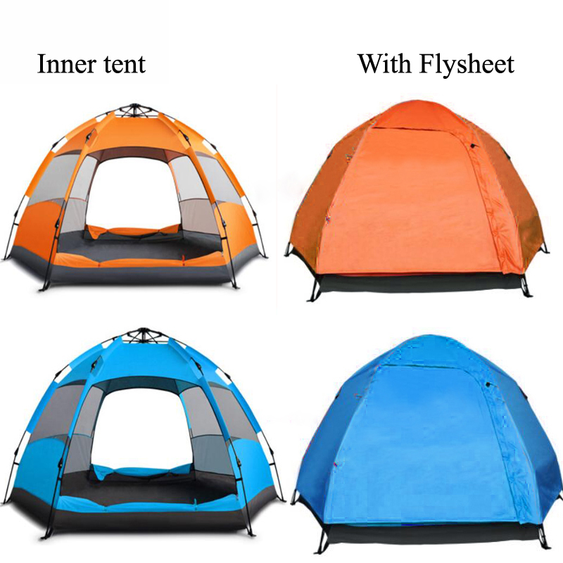 Ultraviolet-proof Tents Outdoor Camping Outdoor Sunscreen Beach Tent Benefit For Ventilation  Big Space Family Camping Tent  3