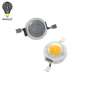 WAVGAT 1W biały ciepły biały czerwony Gerrn niebieski RGB lampa ledowa wysokiej mocy koraliki Pure 300mA 3 2-3 4V 100-120lm 30mil tanie i dobre opinie CN (pochodzenie) Nowy LED High power Do montażu powierzchniowego