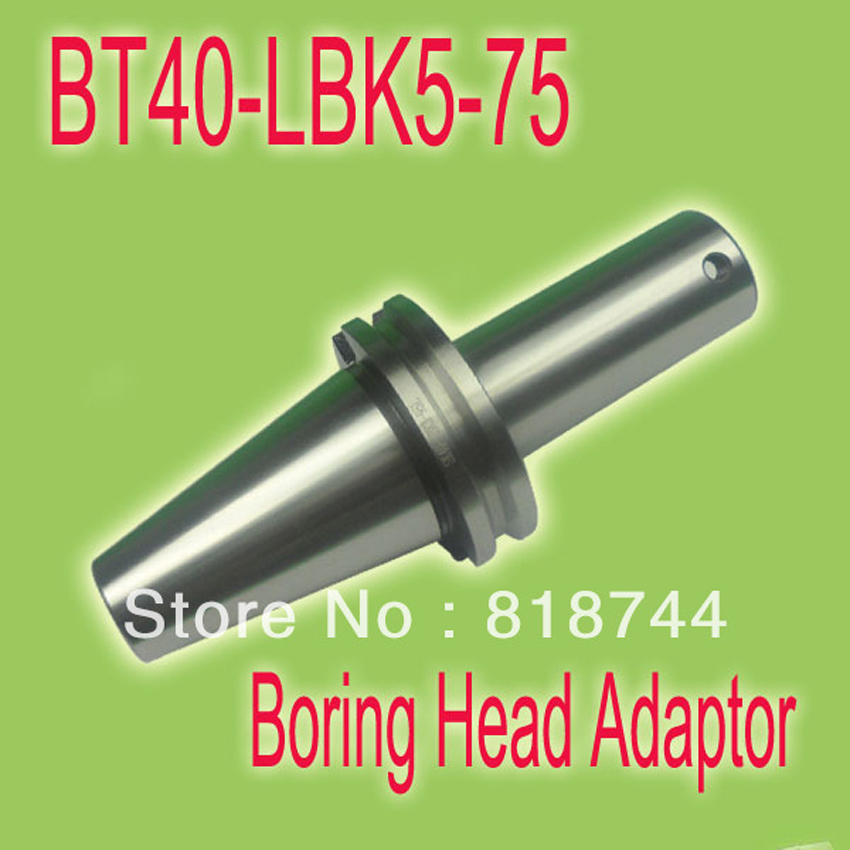 Free Shipping BT40-LBK5-75  Metric Size Boring Head Tool Holder Adaptor For Rough RBH52 & Finish Boring Head high precision rbh90 122mm twin bit rough boring head used for deep holes 0 02mm grade