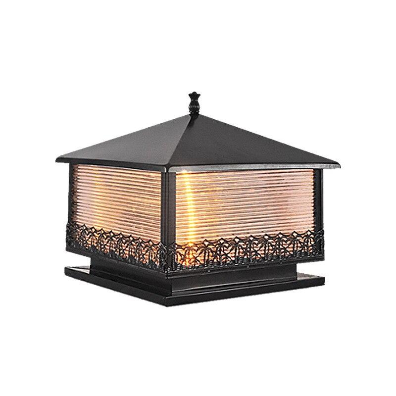Lantaarnpaal Post Foco Lámpara De Césped Exterior Terraza Y Jardin Decoración Luminaria Exterior