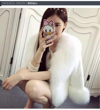 New Hot Fashion Winter Faux Fur Coat