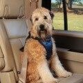 3-54 kg Perros Pequeños Perros Grandes Actualización Del Automóvil Coche Cinturón de seguridad de Coche Chaleco Arnés de seguridad Cinturones de seguridad Pad Covers Para 6-120lbs Recorrido del Animal Doméstico