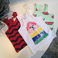 Bobo Choses Children Kids Baby Unisex Cute Tank Top T-shirt Watermelon Ins Summer Tank Vest T Shirt Clothing 1-5Y wholesale
