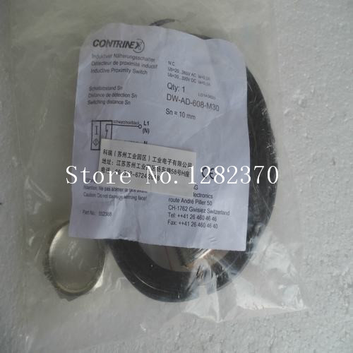 [SA] New original authentic special sales proximity switches CONTRINEX DW-AD-608-M30 spot --2PCS/LOT [sa] new original authentic special sales rexroth r412010305 buffer stock 2pcs lot