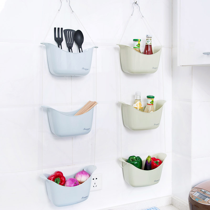 Bathroom Hanging Reception Basket Toilet Washing Basket Kitchen Creative  Collection Small Hanging Basket Storage Basket With Hanging Baskets Storage