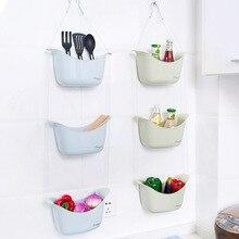 Bathroom Hanging Reception Basket Toilet Washing Basket Kitchen Creative Collection Small Hanging Basket Storage Basket