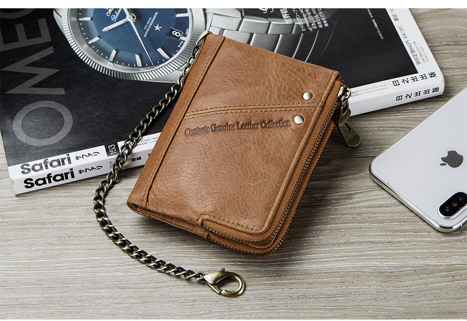 Royal Lion Mens Wallet Billfold Triangle Dolphin