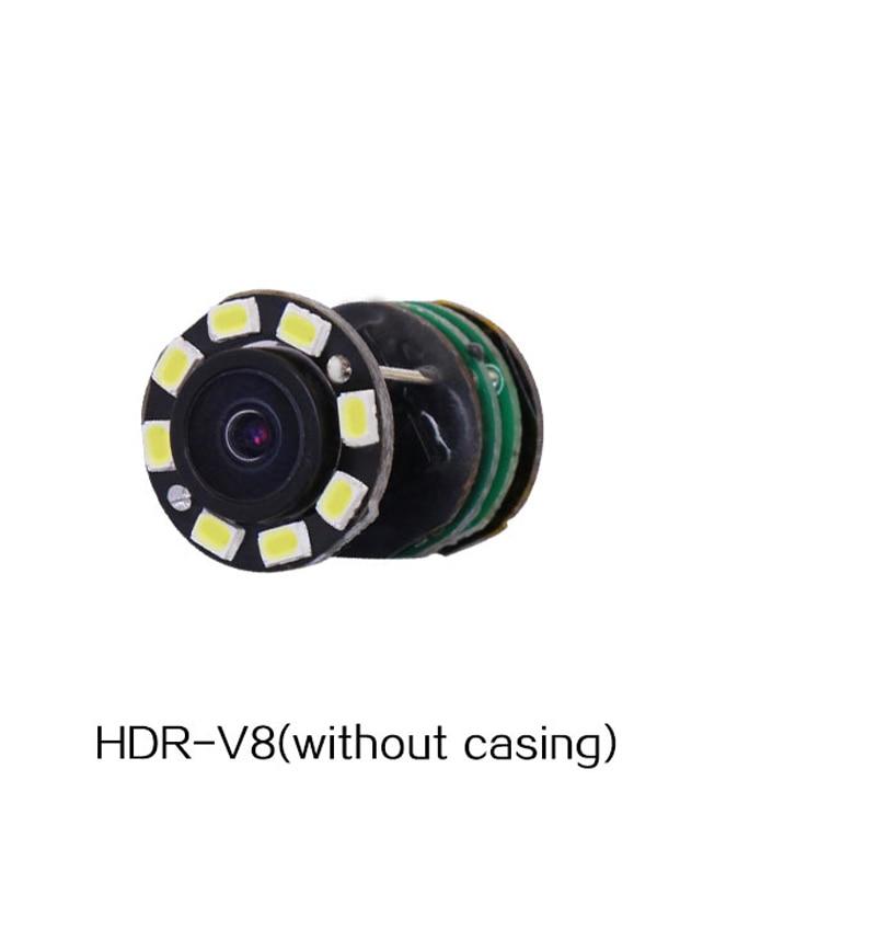 TERCEIRO Wired Mini Lente Da Câmera de CCTV Com Lâmpadas LED Low Lux Night Vision 90 Degree Vista De Monitoramento De Vigilância De Segurança 1000TVL