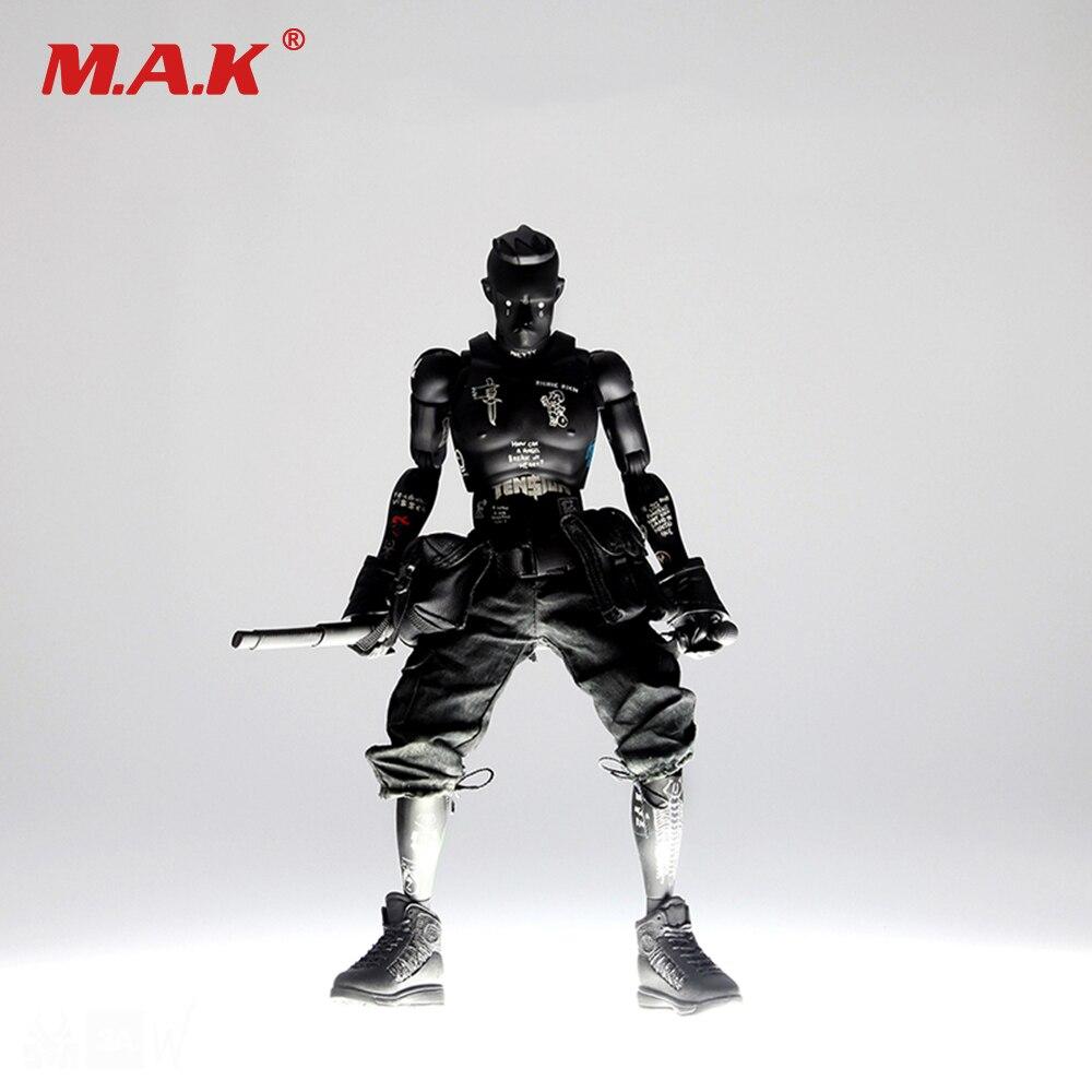 1/6 Scale Dark DA Ninja TK Blood Moon Black DA Rescue Action Figure Model dark blood