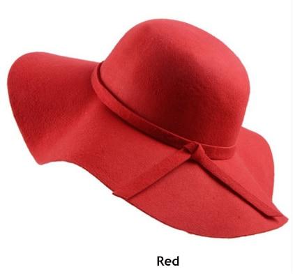 Стиль, мягкая детская шляпа от солнца в винтажном стиле с широкими полями, шерстяная фетровая шляпа-котелок Fedora, широкополая шляпа для девочек, большая шляпа для детей 3-7 лет
