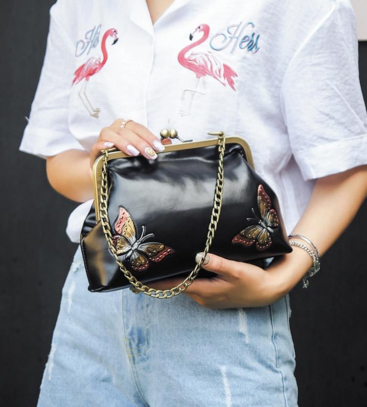 Women Handbags PU Leather Shoulder Crossbody Bags Handbag Female vintage fashion Famous Brand Women Bags (9)