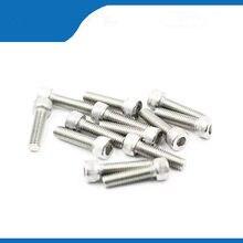 100 шт. M3 * 6/10/12/1416/20/25/30 DIN912 m3 шестигранный винт из нержавеющей стали с головкой из высококачественной нержавеющей стали