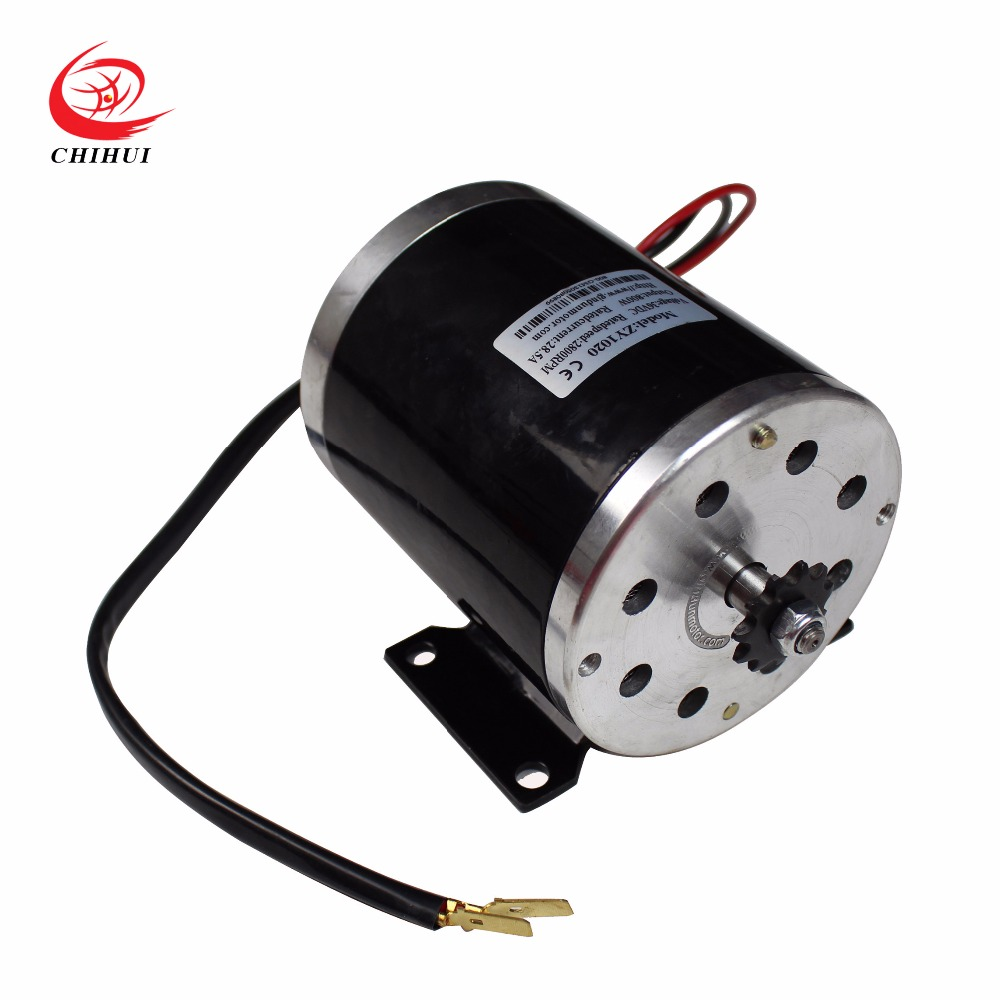 Electric Scooter Motors 800W 36V Brushed Electric DC Motor with Mounting Bracket JINDUN High-speed Motors mpx010 high speed 18000rpm coreless motors silver dc 3v 2 pcs