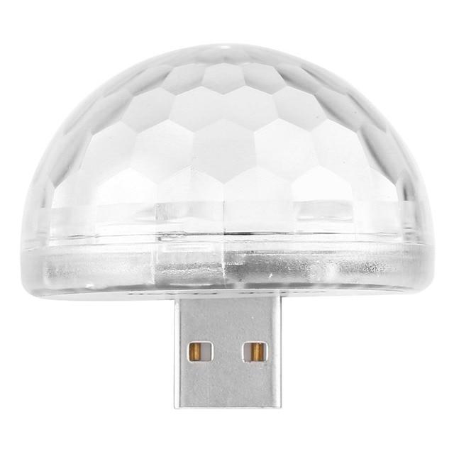 Stage USB Neon Lamp LED Small Ball Music Christmas Household