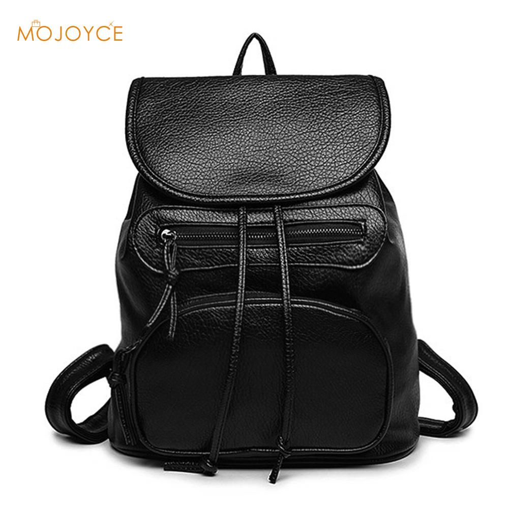 Cassual Korean Backpack Fashion Women Backpacks College Wind School Bags for Girl Soft PU Leather Ladies Travel backpack Mochila new 2016 women backpack genuine leather fashion bag backpack women leisure college wind cowhide backpack girl school