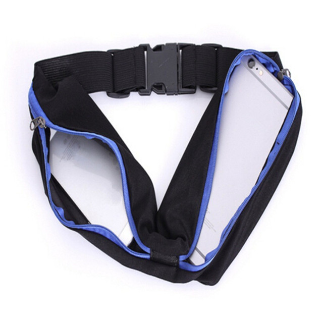 MELIFE Waterproof Gym Running pocket Sport waist jogging belt bag Outdoor Waist pack Women Fitness Belly Men running package