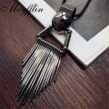 Collier Femme Vintage Necklaces & Pendants 2017 Fashion Jewelry Statement Tassels Long Necklaces for Women Female Sweater Chain