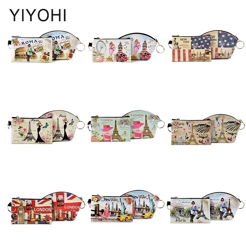 New Design European Style PU coin purse Children Change Purse Card Holder Girls Wallet Purse Women Clutch Zipper Coin Bag Pouch coneed fashion women coins change purse clutch zipper zero wallet phone key bags j27m30