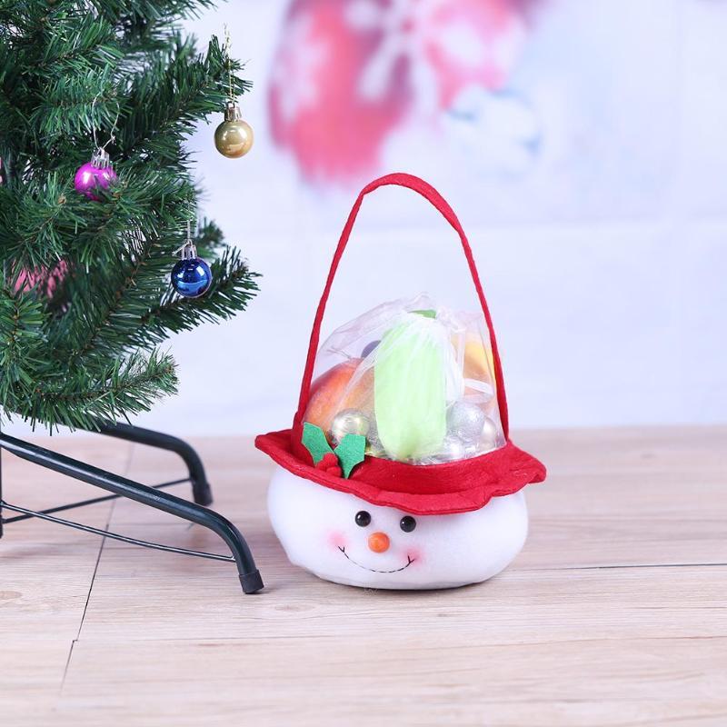 Christmas Santa Candy Bags Xmas Decoration Sack Cute Child Gift Christmas Decora