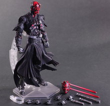 Star Wars Action Figure Jouets Playarts Kai Darth Maul Collection Modèle 270mm PVC Star Wars Darth Maul Playarts