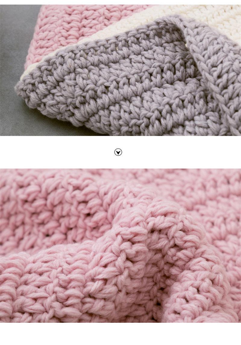 New Crochet Round Rugs Carpets for Children Living Room Animal Bear ...