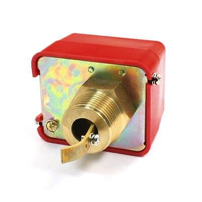 220VAC 15A SPDT G1 Plastic Shell Water Paddle Flow Control Switch Flowmeter Red HFS-25 turck proximity switch bi2 p12sk ap6x plastic shell