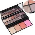 Novo PRO 20 Cores de Maquiagem Set 16 Cores Da Paleta Da Sombra 4 Cor Blush Make up Palette Set Cosméticos de Beleza Livre grátis