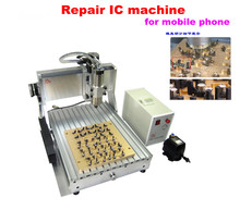 LY IC cnc router IC remove machine 3040 + 10 in 1 mould CNC milling machine for iphone main board repair