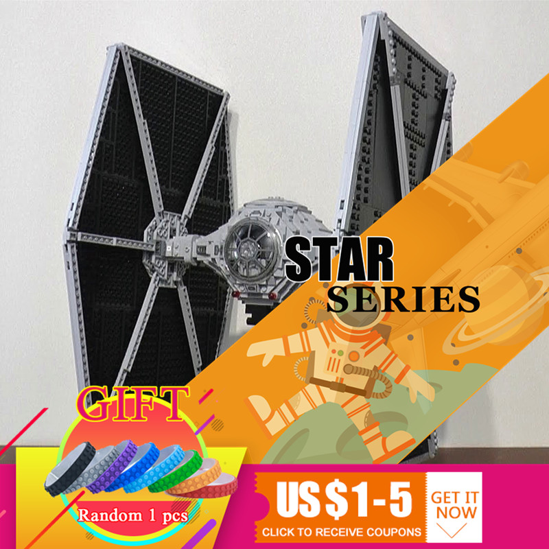 Здесь продается  05036 1685Pcs Star Classic Series Wars Tie Fighter war Building Educational Blocks Compatible with 75095 Children boy Gift lepin  Игрушки и Хобби
