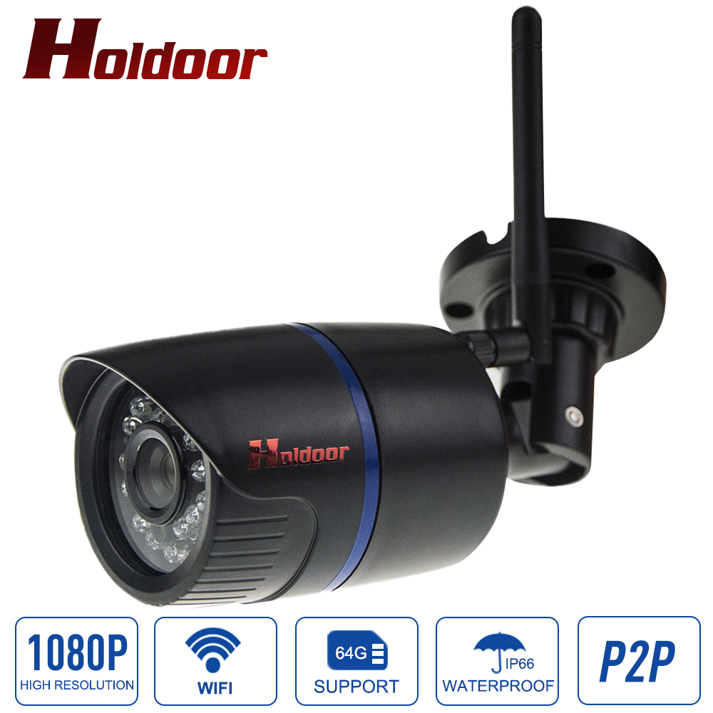 1080P HD IP Camera WIFI Onvif 2.0.4 P2P for Smartphone Waterproof IP65 Infrared IR Home Security Cam With Micro SD Card Slot лоферы devis cesaretti туфли на платформе