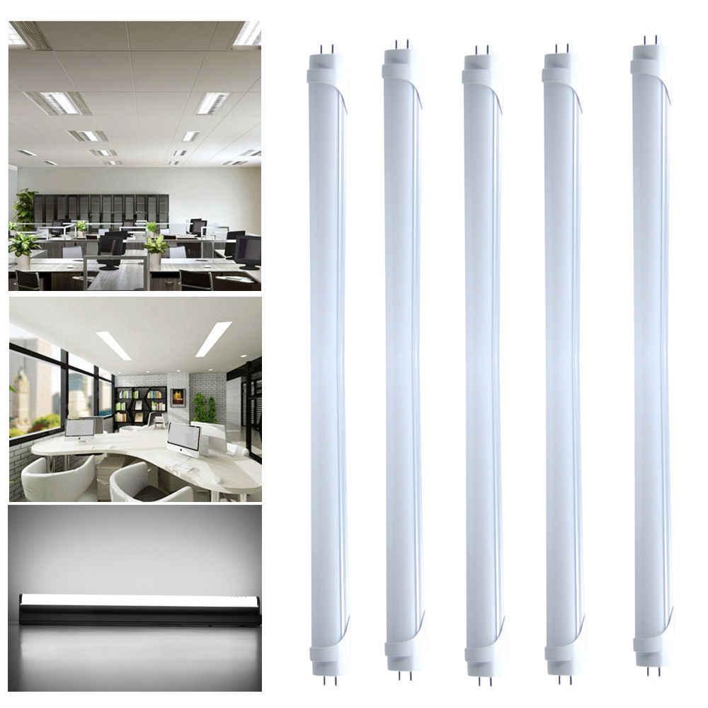 1,5 м 1500 мм 5 футов светодиодный свет 5ft 22 W Светодиодный лампочки T8 светодиодный трубки SMD 2835 для замены флуоресцентная лампа AC85-265V