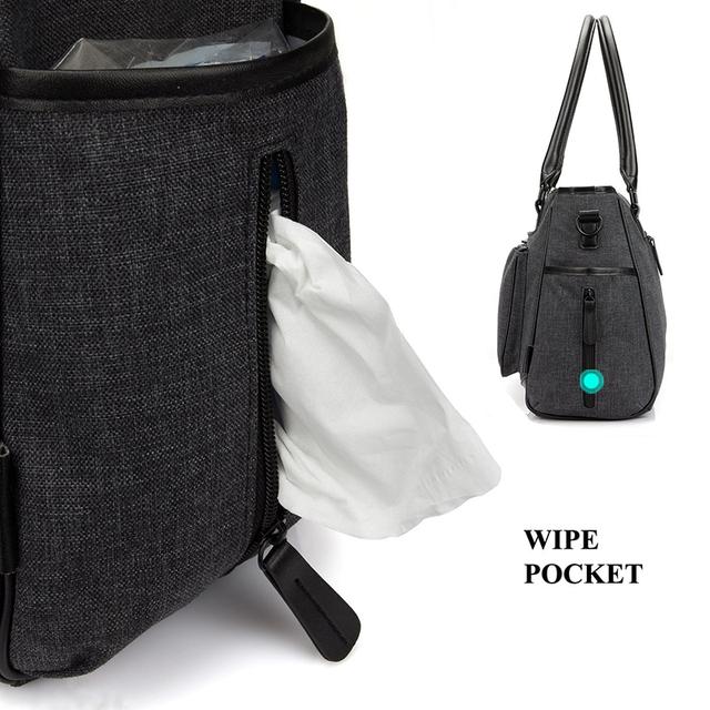 Water-Resistant Baby's Diaper Bag