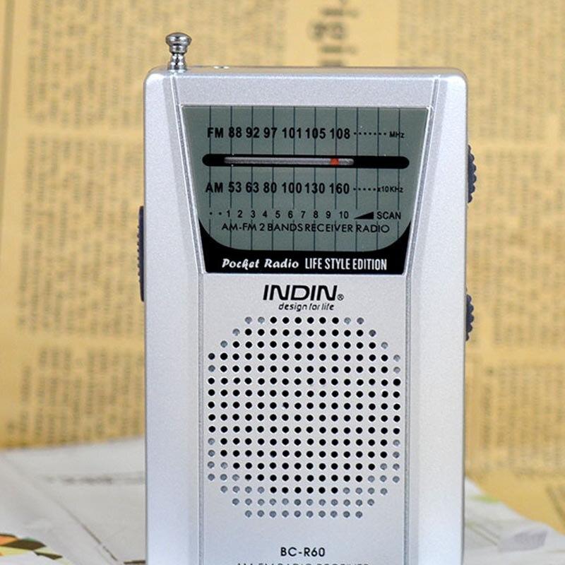 Unterhaltungselektronik Tragbare Bc-r60 Tasche Radio Empfänger Multi-funktion Am/fm 2-band Radio Lautsprecher Musik Mp3 Radio Welt Empfänger Tragbares Audio & Video