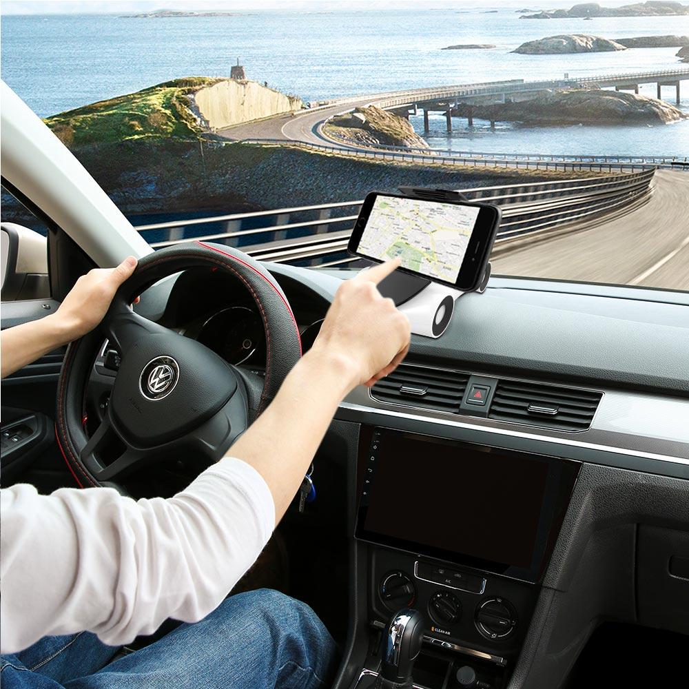 TOMKAS Car Phone Holder 360-Degree Multi-function Universal Phone Holder Navigator Sports Car Models Mobile Phone Holder Stand