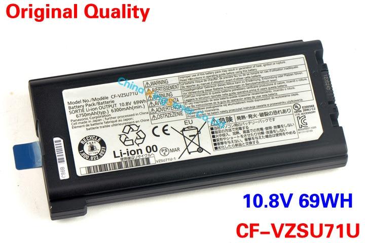 ФОТО Original Quality Japanese Cell Laptop Battery For Panasonic Toughbook CF-30 CF-31 CF-53 CF-VZSU71U CF-VZSU72U CF-VZSU1430U 69WH