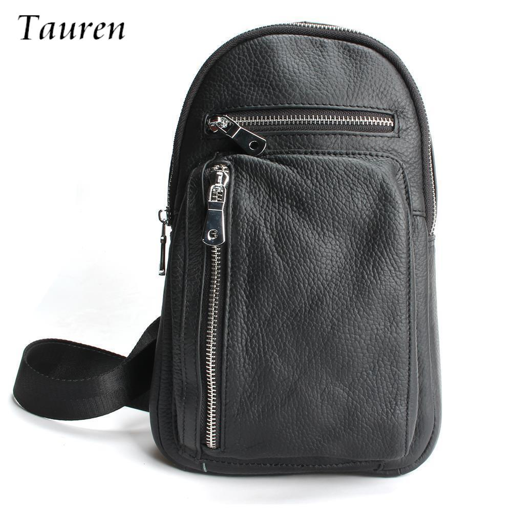 High Quality 2018 New Men Genuine Leather Skin Messenger Shoulder Cross Body Bag Travel Male Sling Chest Day Pack usb флешка 8gb usb drive usb 2 0 a data c906 white
