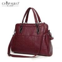 2016 Famous Brand Leather Women Shoulder Bag Fashion Lady Casual Messenger Bag Luxury Handbags Women Bag