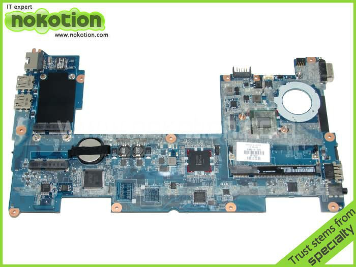 NOKOTION 598011-001 FIT FOR HP MINI 210 LAPTOP MOTHERBOARD DDR2 full tested 594028 001 laptop motherboard 8440w 8440p 5% off sales promotion full tested