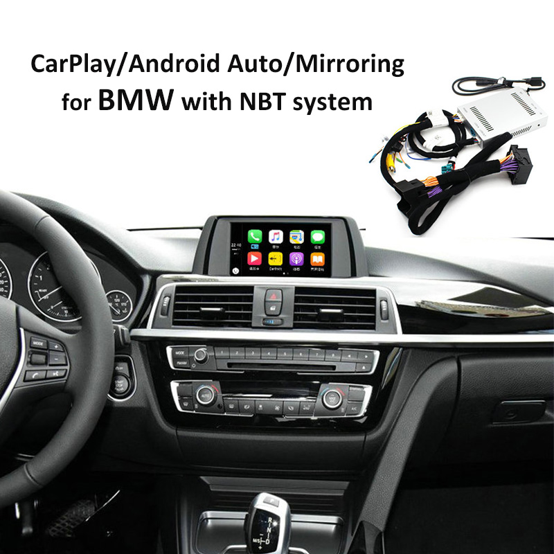Reversing camera Interface module for BMW 1/2/3/4/5/7series X3 X4 X5 X6 MINI with NBT system with Carplay Android Auto Mirroring