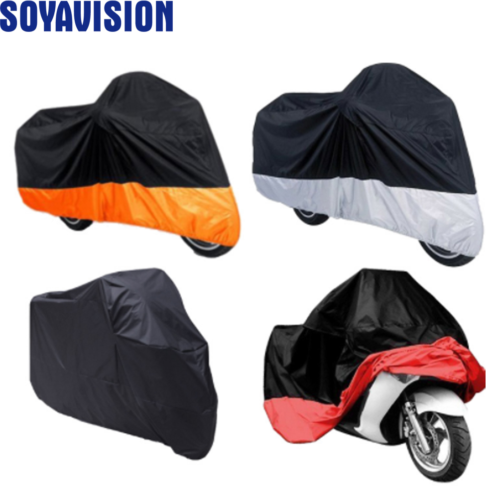 180T UV Protector Waterproof Outdoor Scooter Rain Dust Motorcycle Cover L